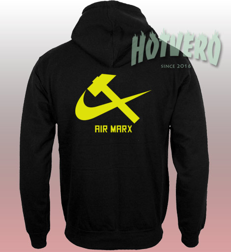 Cheap Air Karl Marx Urban Streetwear Hoodie By Hotvero 9769c5547