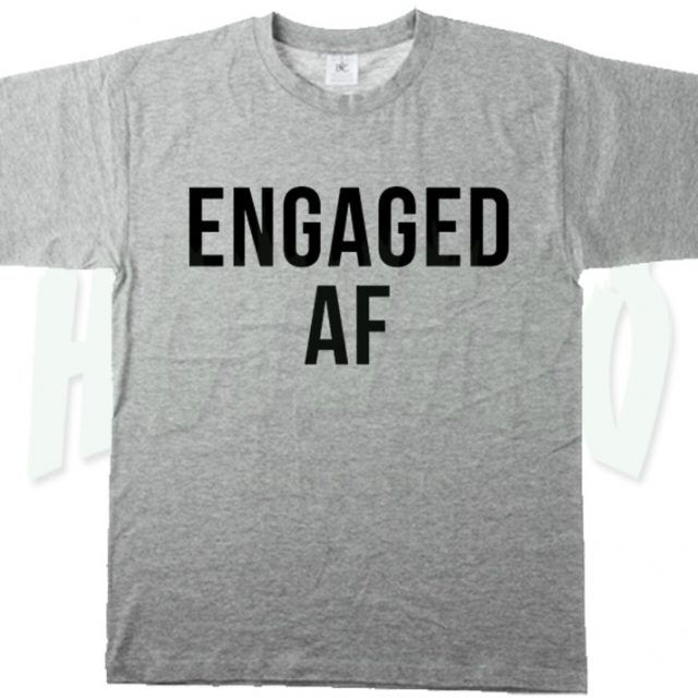 Cheap Engaged Af Feminist Urban T Shirt