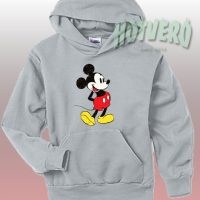 Classic Disney Mickey Mouse Hoodie Urban Style