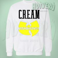 Cream Wu Tang Hip Hop Legend Sweatshirt