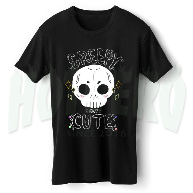 Creepy But Cute Urban T Shirt For Halloween Gift