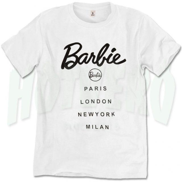 Cute Barbie Missguided T Shirt Urban Fashion Style