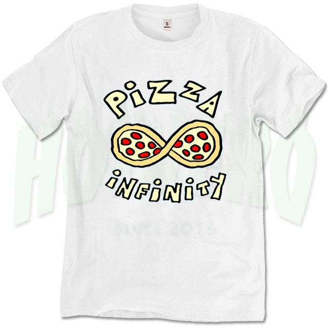 Cute Pizza Infinity Urban T Shirt Design