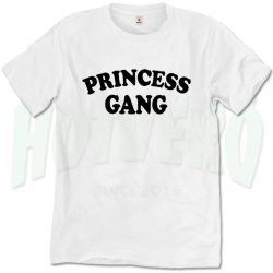 Cute Princess Gang Urban T Shirt Design