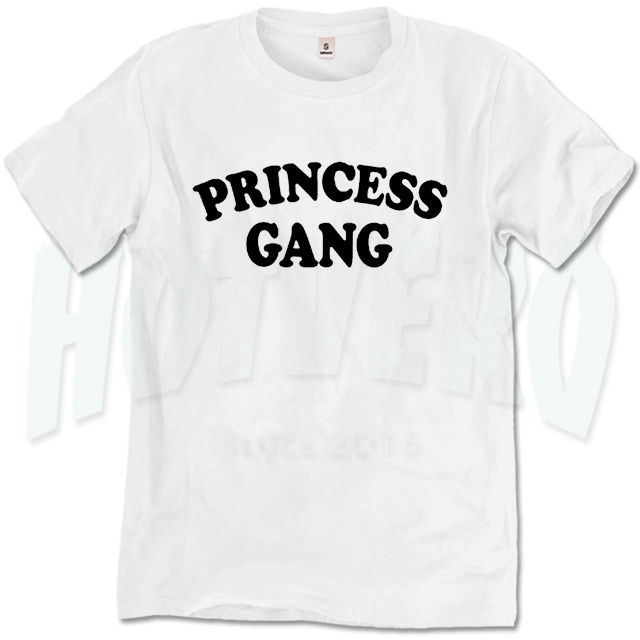 a5ed99a3a Cute Princess Gang Urban T Shirt Design | Cute Urban Clothing - HotVero
