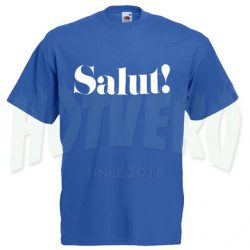 Cute Salut Slogan T Shirt