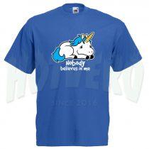 Cute T Shirt Unicorn Saying Nobody Believes Me