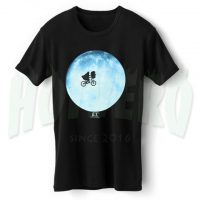 E T Moon Movie Graphic T Shirt