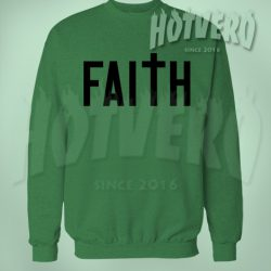 Faith Prayer Unisex Crewneck Sweatshirt