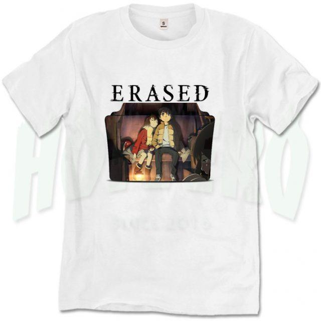 Get Buy Erased Japanese Anime T Shirt