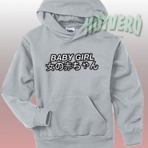 Get Cheap Baby Girl Japanese Hoodie Urban Clothing