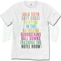 Gold Teeth Grey Goose Lorde Quote T Shirt