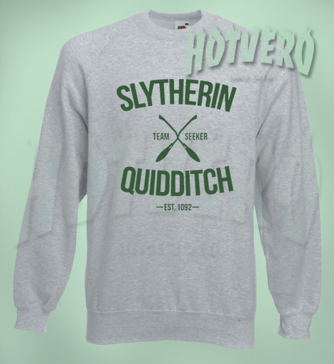 Harry Potter Slytherin Quidditch Team Sweatshirt