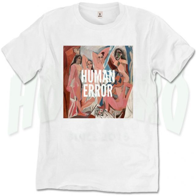 Human Error Urban Street Art T Shirt