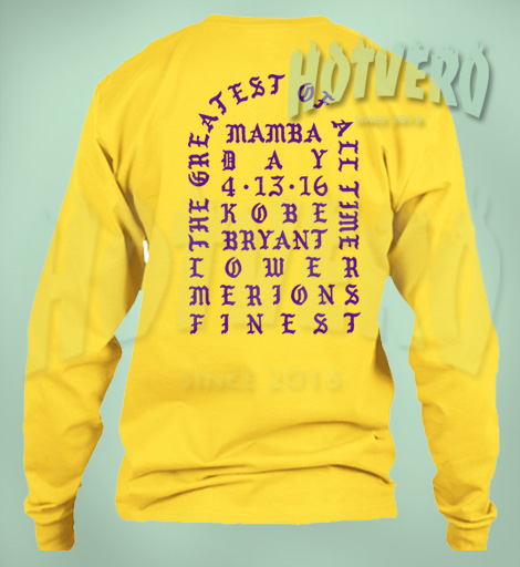 I Feel Like Kobe Mamba Day Cool Sweatshirt
