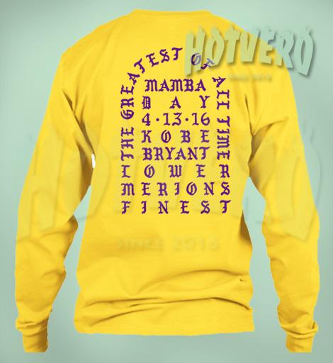 I Feel Like Kobe Mamba Day Cool Sweatshirt