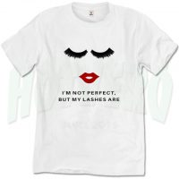 Lash Boost I'm Not Perfect Quote Urban T Shirt