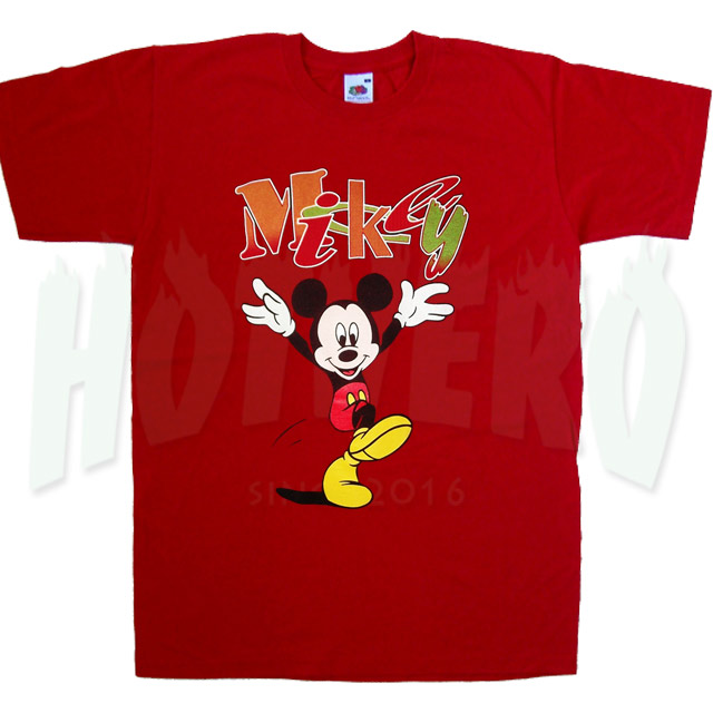 Mickey Mouse Dancing Urban Classic T Shirt