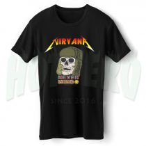 Nirvana Never Mind Skull Urban Vintage T Shirt