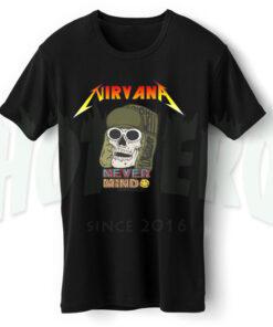 Nirvana Never Mind Skull Urban Vintage T Shirt