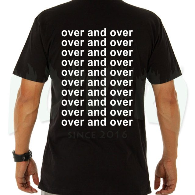 Over and Over Nelly Urban Hip Hop T Shirt