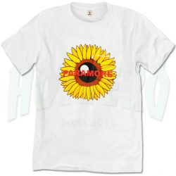 Paramore Sunflower T Shirt For Men And Women
