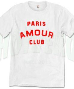 Paris Amour Club T Shirt Urban Fashion
