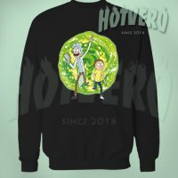 Rick Morty Portal Sweatshirt Urban Clothing