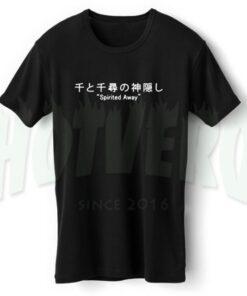 Spirited Away Anime T Shirt Studio Gibli Outfits