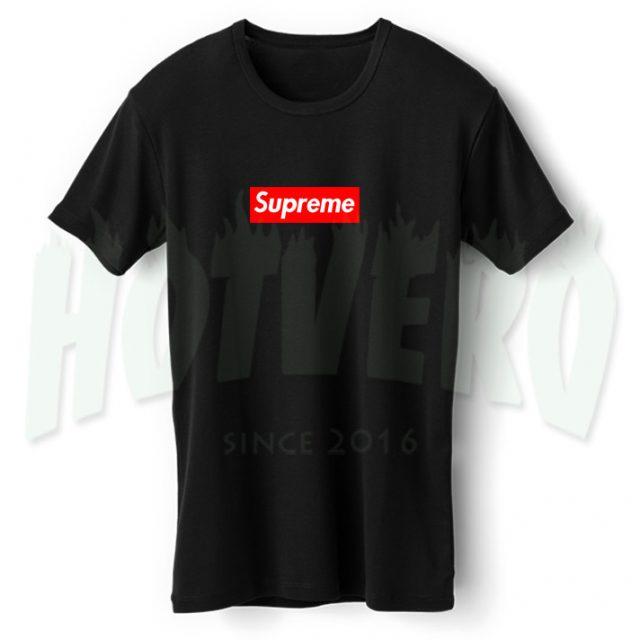 Supreme Box Symbol Urban T Shirt Style