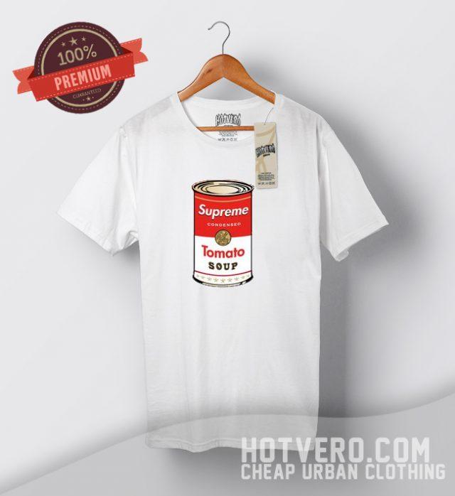 Supreme Tomato Soup Parody T Shirt
