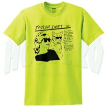 Taylor Swift Sonic Youth Parody T Shirt yellow