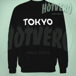 Tokyo Sweatshirt Urban Style Size S-2XL