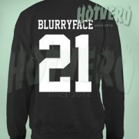 Twenty One Pilots Blurryface Crewneck Urban Sweatshirt