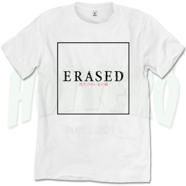 Urban Style Erased Japanese Anime T Shirt