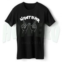 Whatever Hand Symbol Tumblr T Shirt