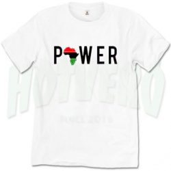 African Girl Power Cute T Shirt For Women