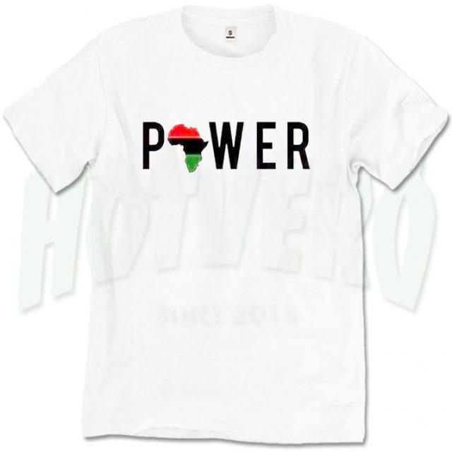African Girl Power Cute T Shirt For Women