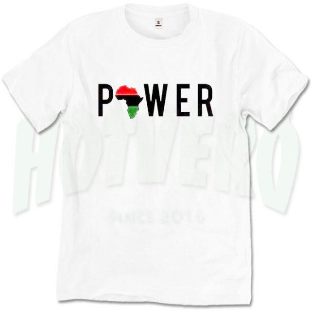 736e33d953f6 African Girl Power Cute T Shirt For Women - HotVero