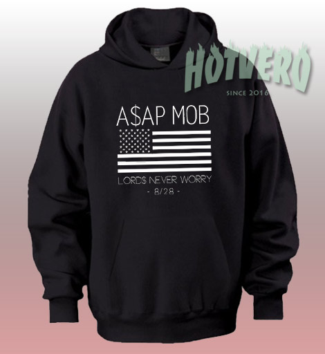 Asap Mob Lords Never Worry Urban Hoodie