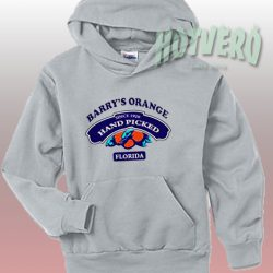 Barrys Orange Hand Picked Florida Urban Hoodie