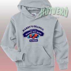 Barrys Orange Hand Picked Florida Urban Hoodie