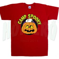 Camp Spooky Snoopy Halloween T Shirt