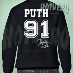 Charlie Puth 91 Sign Sweatshirt
