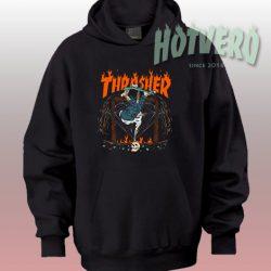 Cheap Thrasher Hellride Unisex Custom Hoodie