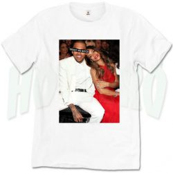 Chris Brown and Rihanna Trust No Bitch T Shirt