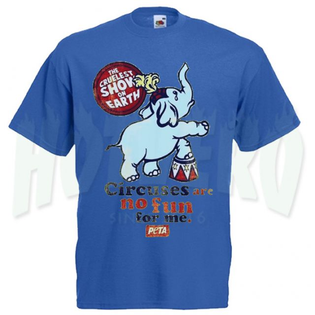 Circuses No Fun For Me Peta T Shirt