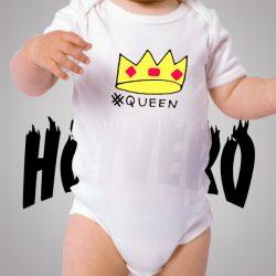 Be Queen Cute Baby Onesie