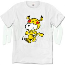 Funny Snoopy Pikachu Hallowen T Shirt