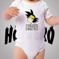 Goku Brain Cute Baby Onesie